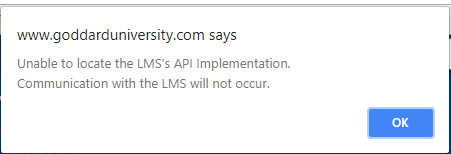 LMS API Implementation error using Camtasia SCORM package